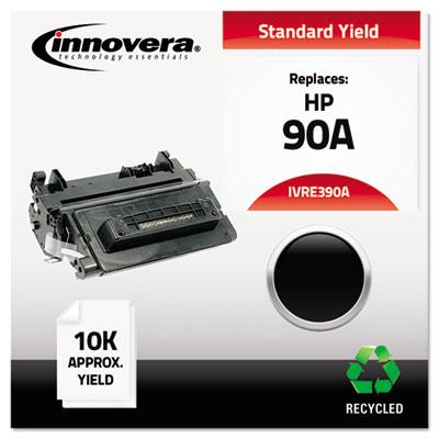 Remanufactured CE390A (90A) Toner, Black<br />91-IVR-E390A