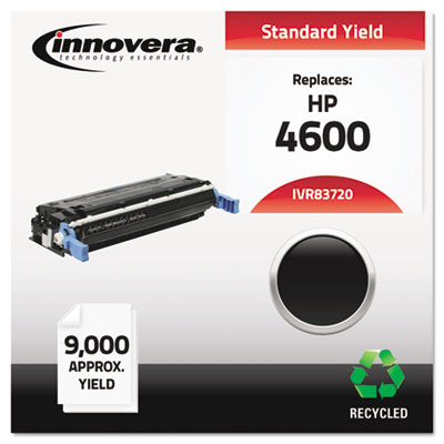 Remanufactured C9720A (641A) Toner, 9000 Yield, Black