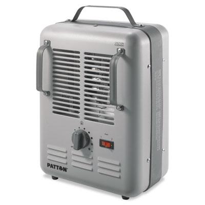 Utility Heater, 7 7/10 x 10 3/10 x 14 3/5Gray