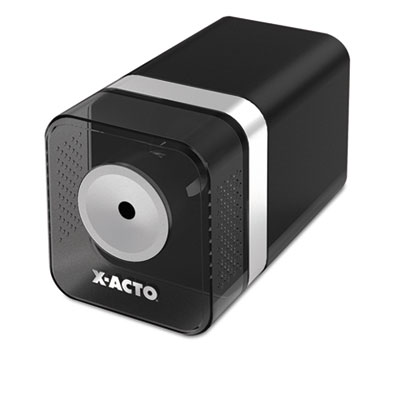 Heavy-Duty Desktop Electric Pencil Sharpener, Black