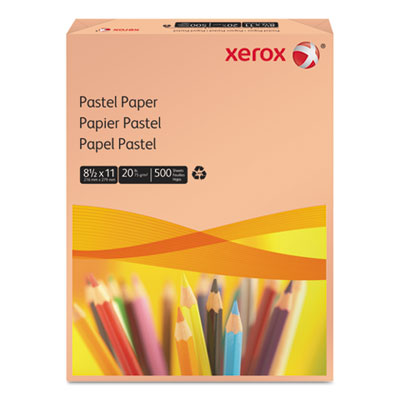 Multipurpose Pastel Colored Paper, 20-lb, Letter, Salmon, 500 Sh