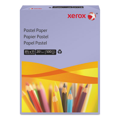 Multipurpose Pastel Colored Paper, 20-lb, Letter, Lilac, 500 She