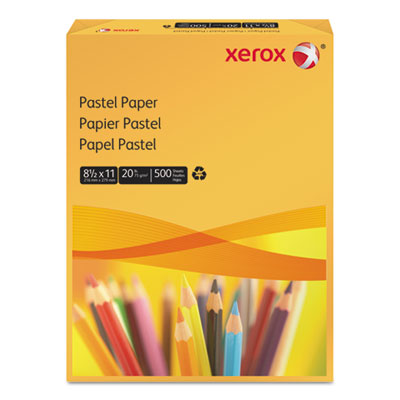Multipurpose Pastel Colored Paper, 20-lb, Letter, Gold, 500 Shee