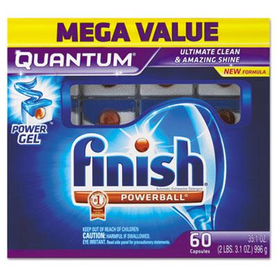 Quantum Dishwasher Tabs, White, 25 Count
