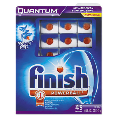 Quantum Dishwasher Tabs, Blue, 45 Count