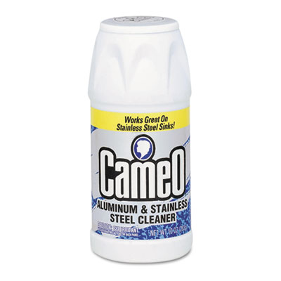 Aluminum and Stainless Steel Cleaner, 10 oz, Powder, Can
