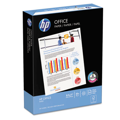 Office Paper, 92 Brightness, 20lb, 8-1/2 x 11, White, 5000 Sheet