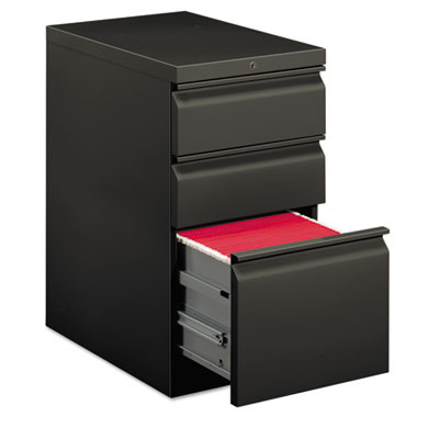 Efficiencies Mobile Pedestal File w/One File/Two Box Drawers, 22