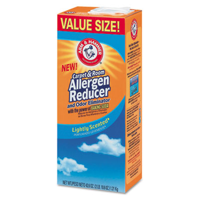 Carpet & Room Allergen Reducer and Odor Eliminator, 42.6 oz Box