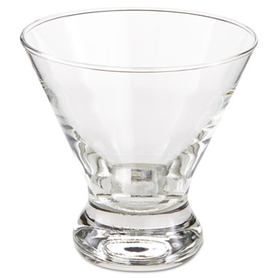 Cosmopolitan Beverage Glasses, Cocktail/Dessert, 8.25 oz, 3 7/8""