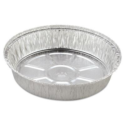 Round Aluminum Container, 37 oz, 8 in, 500/Carton