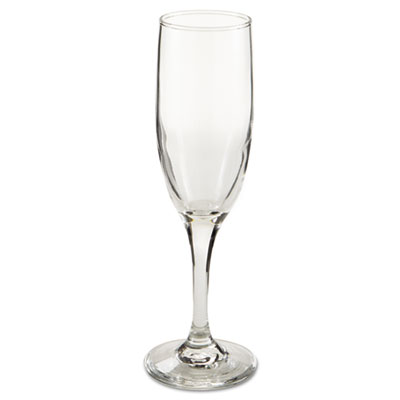 "Embassy Flutes/Coupes & Wine Glasses, Flute, 6oz, 8 1/8"" Tall, 1"