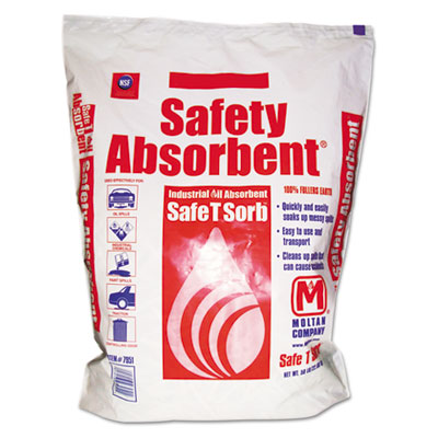 All-Purpose Clay Absorbent, 50lb, Poly-Bag
