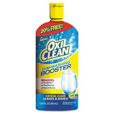 Dishwashing Booster, 15.6 oz, Liquid, Bottle