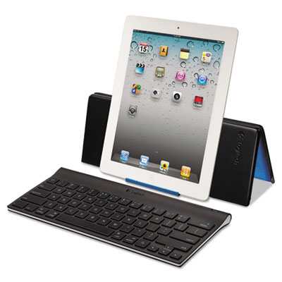 Bluetooth Tablet Keyboard for iPad, Black