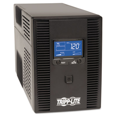 Digital LCD UPS System, 1300 VA, USB, AVR, 8 outlet