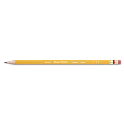 Mirado Woodcase Pencil, F #2.5, Yellow Barrel, Dozen