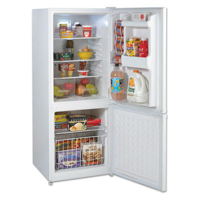 Bottom Mounted Frost-Free Freezer Refrigerator, 9.2 Cubic Feet,