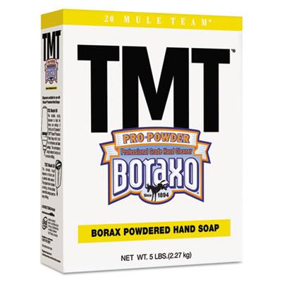 TMT Powdered Hand Soap, Unscented Powder, 5lb Box, 10/Carton