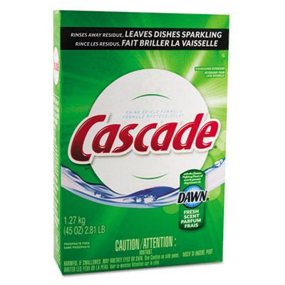 Automatic Dishwasher Powder, Fresh Scent, 45oz Box, 12/Carton