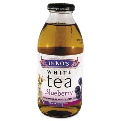 Ready-To-Drink Blueberry White Tea, 16oz Bottle, 12/Carton