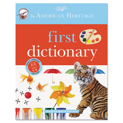 American Heritage First Dictionary, Grades K-3, Hardcover, 416 P