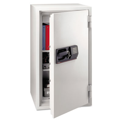 Commercial Safe, 5.8 ft3, 25-1/2w x 23-7/8d x 47-5/8h, Light Gra