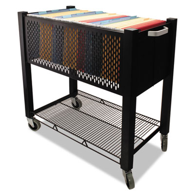 InstaCart File Cart, 15w x 28-1/4d x 27-3/4h, Black