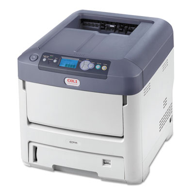 C711dn Laser Printer, Network-Ready, Duplex Printing