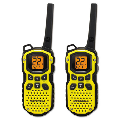Talkabout MS350R Two Way Radio, 1 Watt, GMRS/FRS, 22 Channels