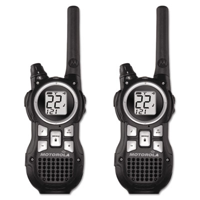 Talkabout MR350R Two Way Radio, 1 Watt, GMRS/FRS, 22 Channels