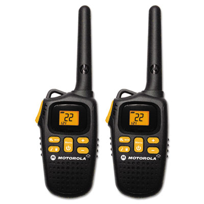 Talkabout MD207R Two Way Radio, 1 Watt, GMRS/FRS, 22 Channels