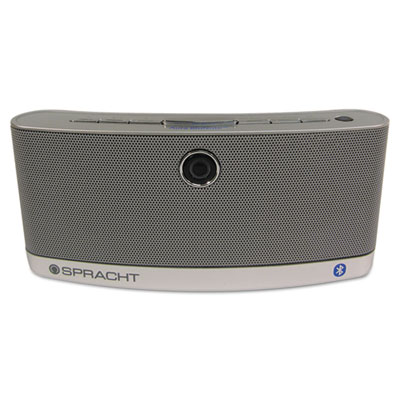 AURA BluNote Bluetooth Wireless Speaker, Silver