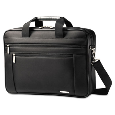 Classic Perfect Fit Laptop Case, 16.5 x 4.5 x 12, Nylon, Black