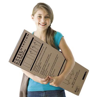 Spotlight Corrugated Presentation Display Board, White, 48 x 36<br />91-PAC-3784