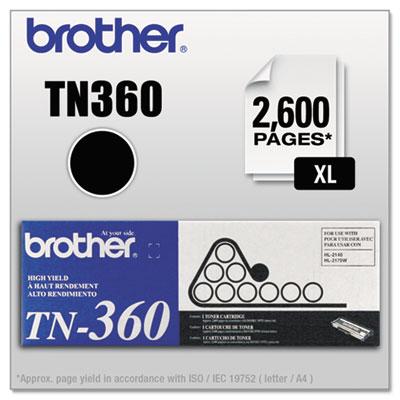 TN360 High-Yield Toner, Black<br />91-BRT-TN360