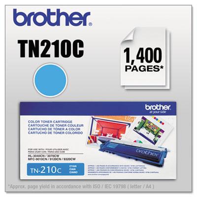 TN210C Toner, Cyan<br />91-BRT-TN210C