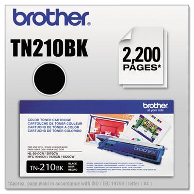 TN210BK Toner, Black<br />91-BRT-TN210BK