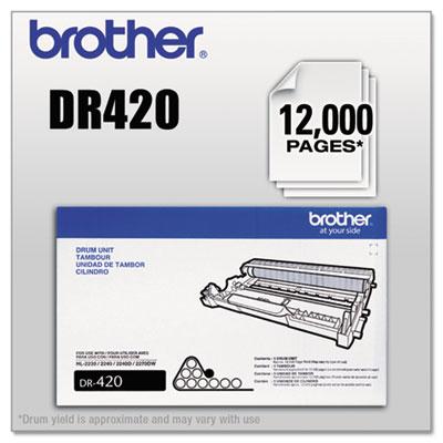 DR420 Drum Unit, Black<br />91-BRT-DR420