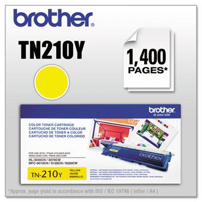 TN210Y Toner, Yellow<br />91-BRT-TN210Y