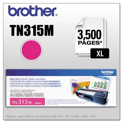 TN315M High-Yield Toner, Magenta<br />91-BRT-TN315M