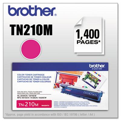 TN210M Toner, Magenta<br />91-BRT-TN210M