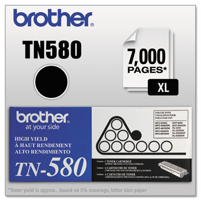 TN580 High-Yield Toner, Black<br />91-BRT-TN580