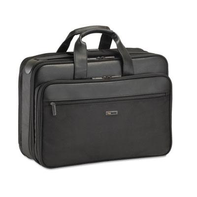 """Classic Smart Strap Briefcase, 16"""", 17 1/2 x 5 1/2 x 12, Black"""