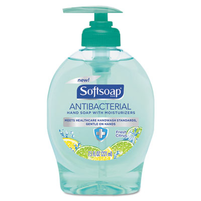 Antibacterial Hand Soap, Fresh Citrus, 7.5 oz Pump Bottle