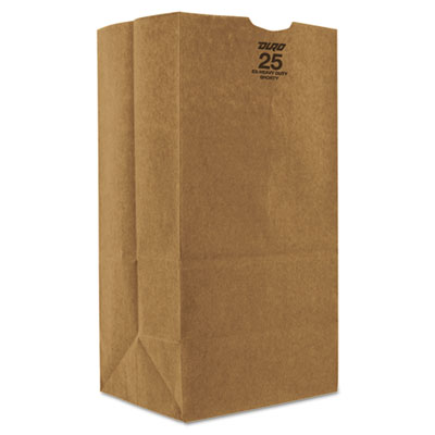 12.5-lb Kraft Paper Bags, Natural, 500/Carton