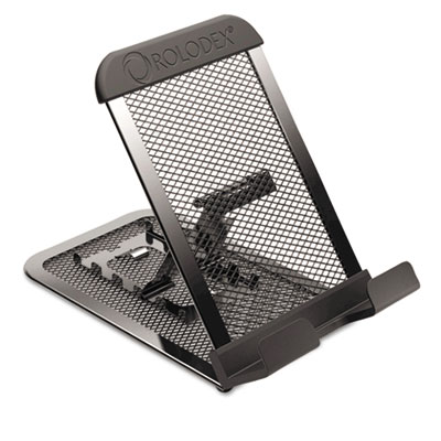 Adjustable Mobile Device Mesh Stand, Black