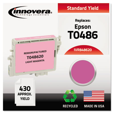 848620 Compatible, Remanufactured, T048620 Ink, 430 Page-Yield,