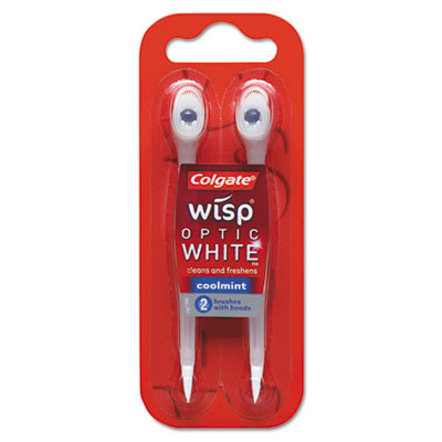 Mini-Brush, Coolmint, 48 2-Packs/Carton