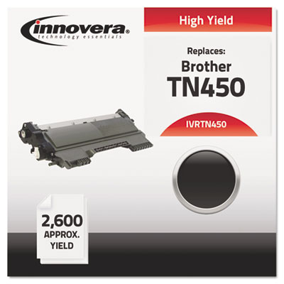Remanufactured TN450 High-Yield Toner, Black<br />91-IVR-TN450